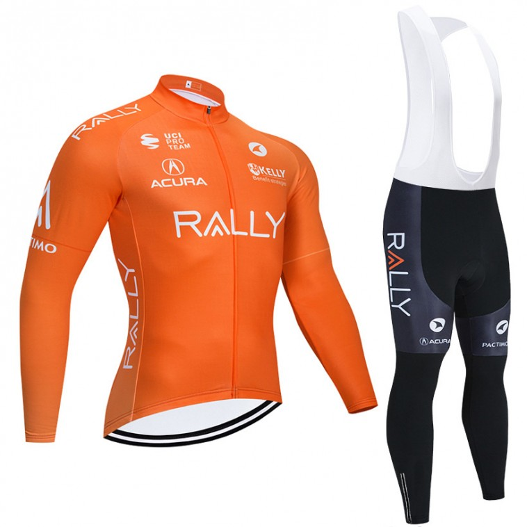 Ensemble cuissard vélo et maillot cyclisme hiver pro ACURA RALLY 2020
