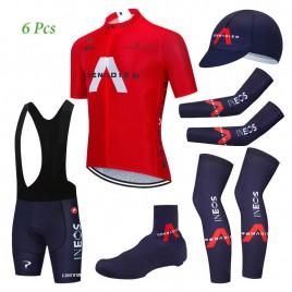 Tenue complète cyclisme équipe pro INEOS GRENADIER 2020 Aero Mesh Rouge