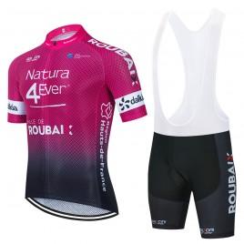 Ensemble cuissard vélo et maillot cyclisme équipe pro NATURA4EVER 2021 Aero Mesh