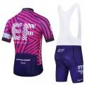 Ensemble cuissard vélo et maillot cyclisme équipe pro EF Education First 2021 Aero Mesh