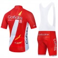 Ensemble cuissard vélo et maillot cyclisme équipe pro COFIDIS 2021 Aero Mesh