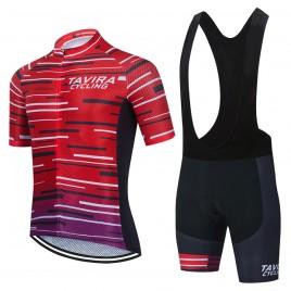 Ensemble cuissard vélo et maillot cyclisme équipe pro TAVIRA 2021 Aero Mesh