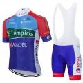 Ensemble cuissard vélo et maillot cyclisme équipe pro TOTAL 2021 Aero Mesh