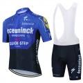 Ensemble cuissard vélo et maillot cyclisme équipe pro QUICK STEP Deceuninck 2021 Aero Mesh