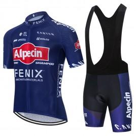 Ensemble cuissard vélo et maillot cyclisme équipe pro ALPECIN FENIX 2021 Aero Mesh