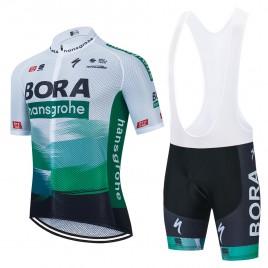 Ensemble cuissard vélo et maillot cyclisme équipe pro BORA 2021 Aero Mesh