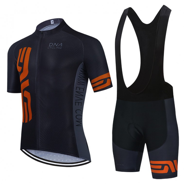 Ensemble cuissard vélo et maillot cyclisme équipe pro DNA 2021 Aero Mesh