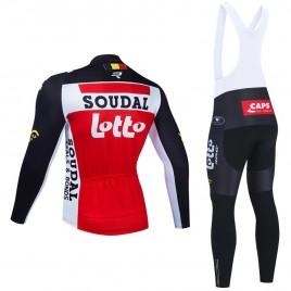 Ensemble cuissard vélo et maillot cyclisme hiver pro LOTTO SOUDAL 2021
