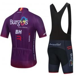 Ensemble cuissard vélo et maillot cyclisme équipe pro BURGOS BH 2021 Aero Mesh