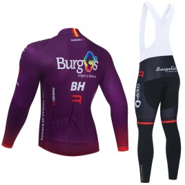 Ensemble cuissard vélo et maillot cyclisme hiver pro BURGOS BH 2021