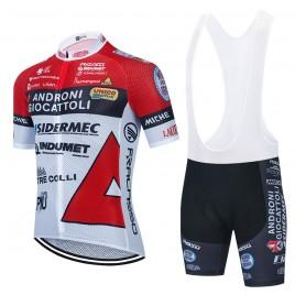 Ensemble cuissard vélo et maillot cyclisme équipe pro ANDRONI Giocattoli 2021 Aero Mesh