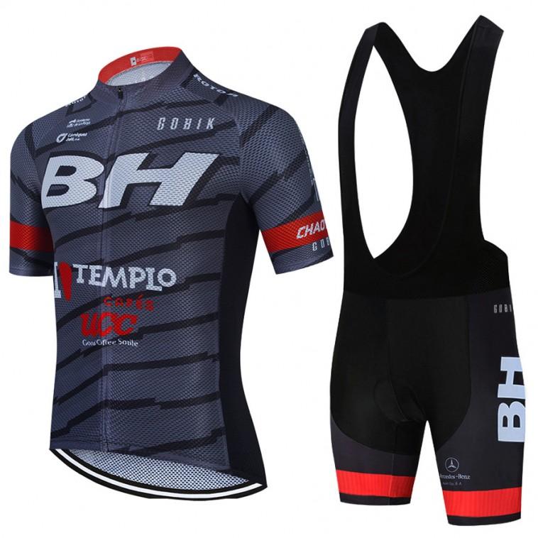 Ensemble cuissard vélo et maillot cyclisme équipe pro BH Templo Cafés UCC 2021 Aero Mesh
