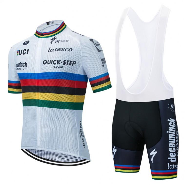 Ensemble cuissard vélo et maillot cyclisme UCI Champion des champions 2020 Aero Mesh