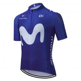 "Maillot vélo équipe pro MOVISTAR Aero Mesh ""Blue edition"""