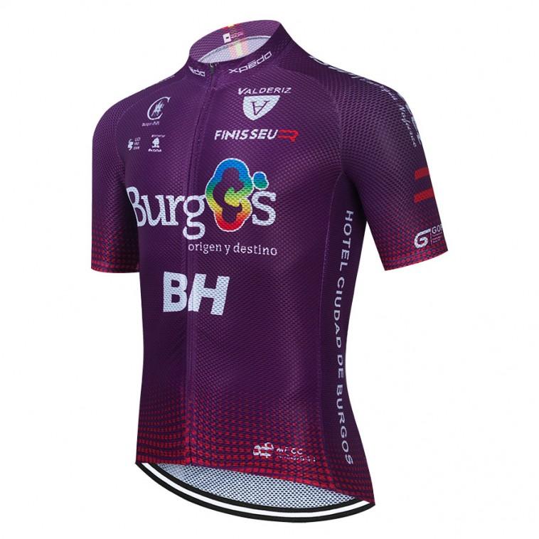Maillot vélo équipe pro BURGOS BH 2021 Aero Mesh