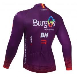 Maillot vélo hiver pro BURGOS BH 2021
