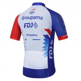 Maillot vélo équipe pro FDJ Groupama 2021 Aero Mesh