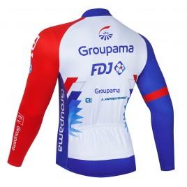 Maillot vélo hiver pro FDJ Groupama 2021