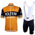 Ensemble cuissard vélo et maillot cyclisme équipe pro Molteni Vintage Rétro