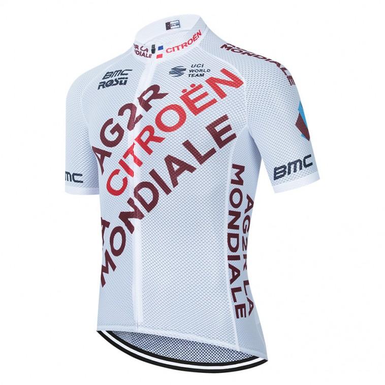 Maillot vélo équipe pro AG2R La Mondiale 2021 Aero Mesh
