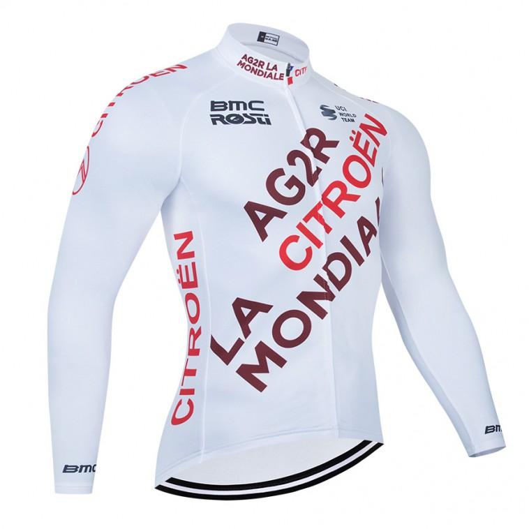 Maillot vélo hiver pro AG2R La Mondiale 2021