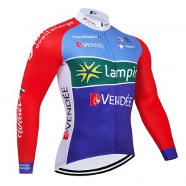 Maillot vélo hiver pro TOTAL 2021