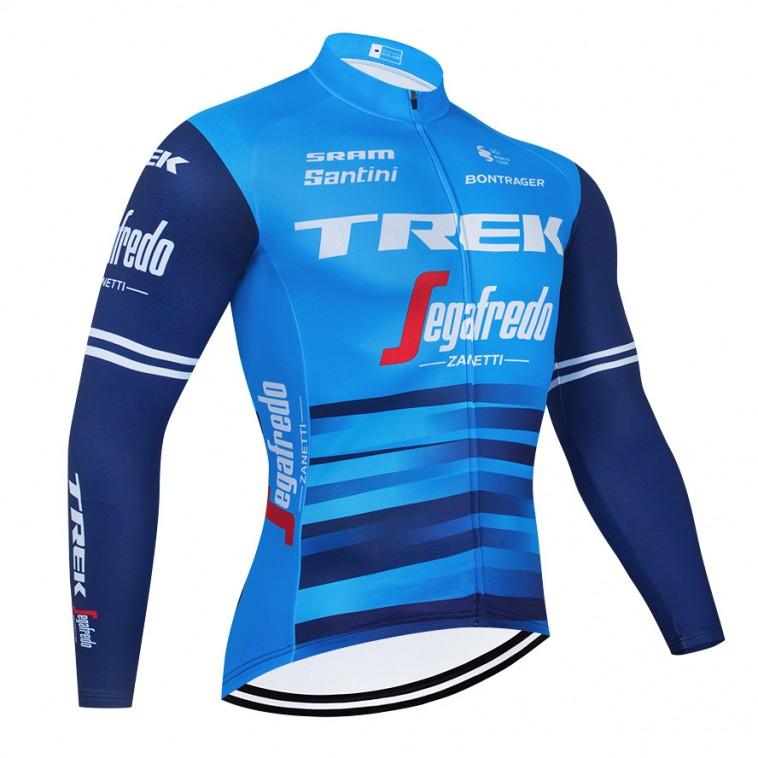 Maillot vélo hiver pro TREK Segafredo 2021