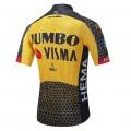 Maillot vélo équipe pro JUMBO VISMA 2021 Aero Mesh