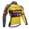 Maillot vélo hiver pro JUMBO VISMA 2021