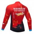 Maillot vélo hiver pro BAHRAIN 2021
