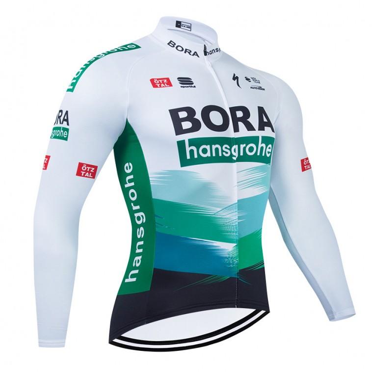Maillot vélo hiver pro BORA 2021