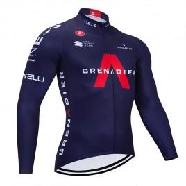 Maillot vélo hiver pro INEOS GRENADIER 2021