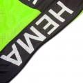 Ensemble cuissard vélo et maillot cyclisme équipe pro JUMBO VISMA 2021 Aero Mesh Fluo
