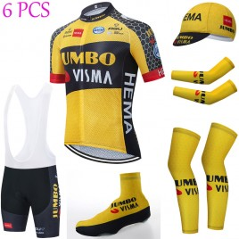 Tenue complète cyclisme équipe pro JUMBO VISMA 2021 Aero Mesh