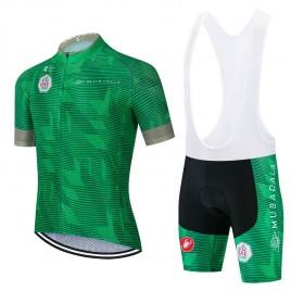 Ensemble cuissard vélo et maillot cyclisme pro UAE TOUR 2021 Aero Mesh