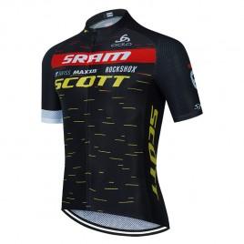 Maillot vélo équipe pro SCOTT SRAM 2021 Aero Mesh