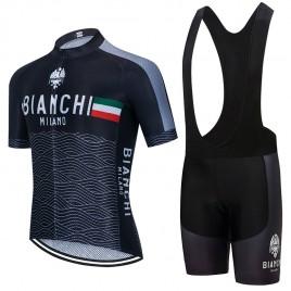 Ensemble cuissard vélo et maillot cyclisme pro BIANCHI Milano 2021 Aero Mesh