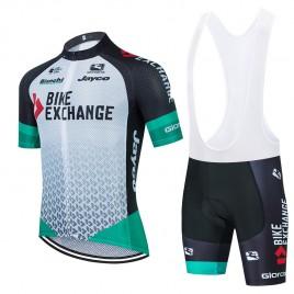 Ensemble cuissard vélo et maillot cyclisme équipe pro BIKE EXCHANGE 2021 Aero Mesh