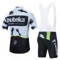 Ensemble cuissard vélo et maillot cyclisme équipe pro QHUBEKA 2021 Aero Mesh