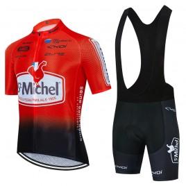 Ensemble cuissard vélo et maillot cyclisme équipe pro SAINT MICHEL Auber 93 Aero Mesh 2021