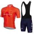 Ensemble cuissard vélo et maillot cyclisme équipe pro INEOS GRENADIER 2021 Aero Mesh Orange