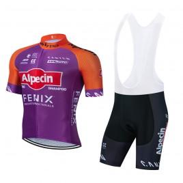 Ensemble cuissard vélo et maillot cyclisme équipe pro ALPECIN Fenix Tour de France 2021 Aero Mesh