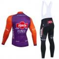 Ensemble cuissard vélo et maillot cyclisme hiver pro ALPECIN Fenix Tour de France 2021