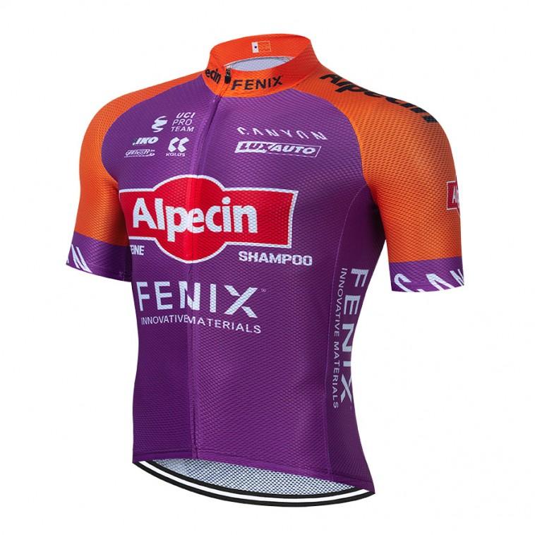 Maillot vélo équipe pro ALPECIN Fenix Tour de France 2021 Aero Mesh