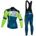 Ensemble cuissard vélo et maillot cyclisme hiver pro VINI ZABU 2021