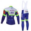 Ensemble cuissard vélo et maillot cyclisme hiver pro WANTY Gobert 2021