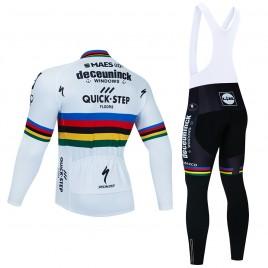 Ensemble cuissard vélo et maillot cyclisme hiver pro UCI Champion des champions 2021